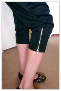 DIY Couture Harem Pants